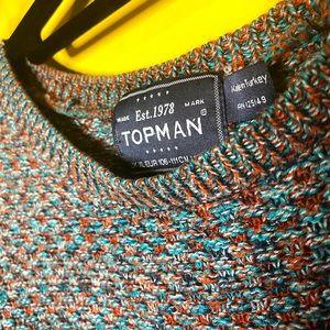 TOPMAN Multi Coloured Crewneck sweater - Size XL